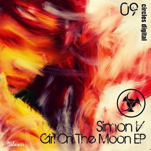 SimonV-Girl On The Moon