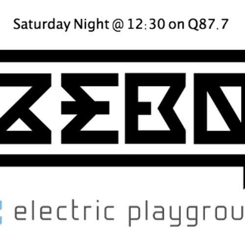DJ Zebo - Electric Playground - Q87.7 - 12.21.13
