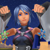 Aqua from Kingdom Hearts: Birth by Sleep
