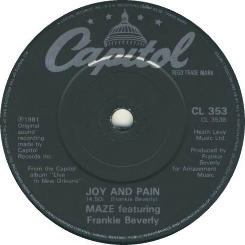 Maze & Frankie Beverly  Joy And Pain (Soul Fool Edit)*See description for FREE download*