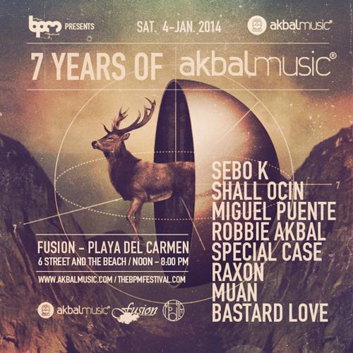 Akbal Music podcast 014- Sebo K