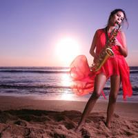 Sax On The Beach By Jérém-R