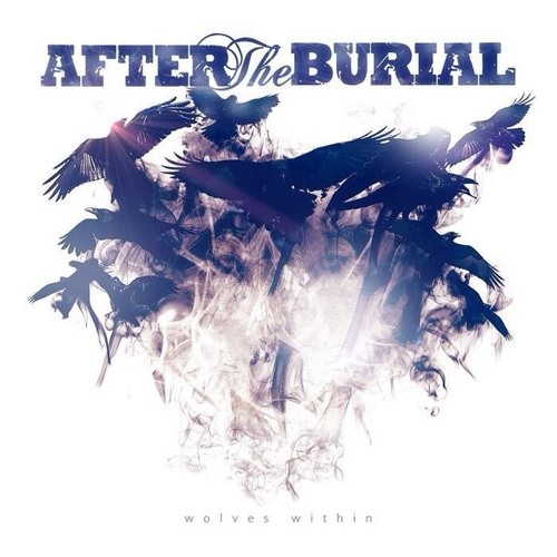 After the burial - A Wolf Amongst Ravens - mixtest cover