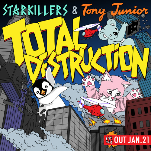 Starkillers & Tony Junior - Total Destruction [PREVIEW]