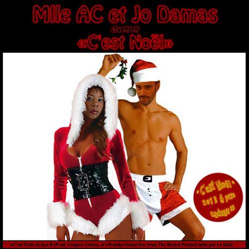 Mlle AC et Jo Damas - C'est Noël