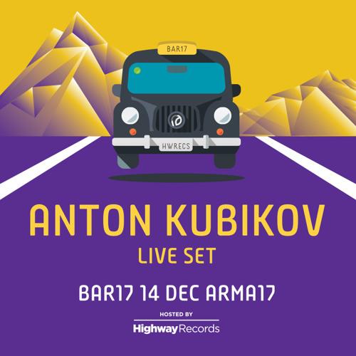 Anton Kubikov @ Bar 17 (Arma 17, Moscow) — 14.12.2013