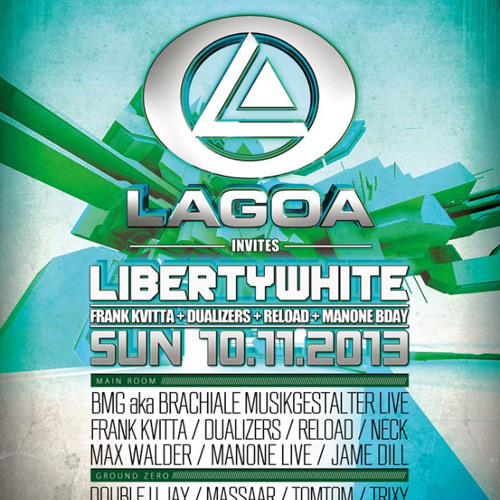 NECK - LAGOA INVITES LBERTY WHITE -  11.2013