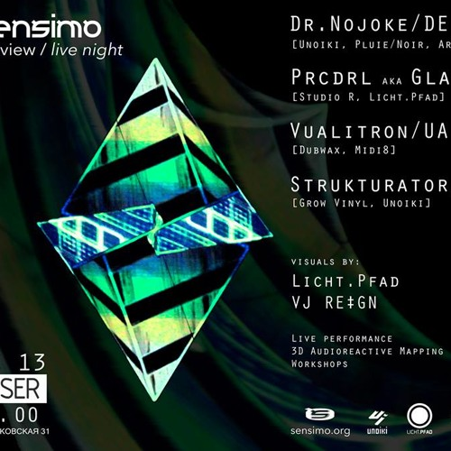 Dr.Nojoke Live @ Sensimo fest re_view live_night@ Closer 13.12.2013