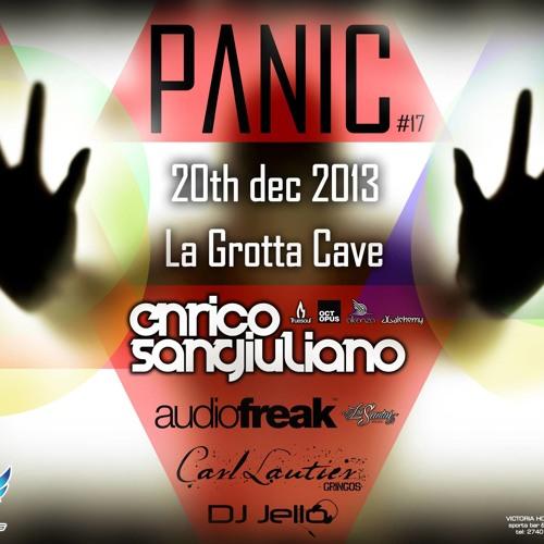 Enrico Sangiuliano @ PANIC, La Grotta Cave Club - Gozo Island - Dec 20th, 2013