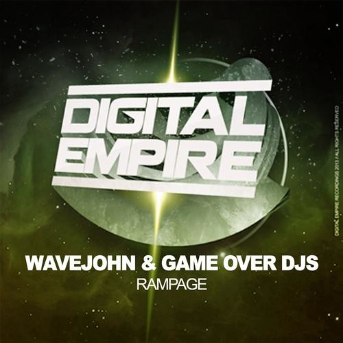 DER00255: Wavejohn & Game Over Djs - Rampage (Original Mix) [Out Now Beatport]