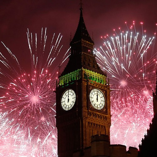 London New Year's Eve 2013/14 - Fireworks Soundtrack