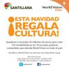 Santillana y World Vision extienden campaña para crear 210 minibibliotecas