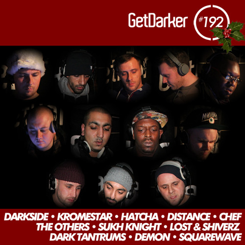 12 DJs - GetDarker 192 - Xmas Party 2013 [Live Recording]