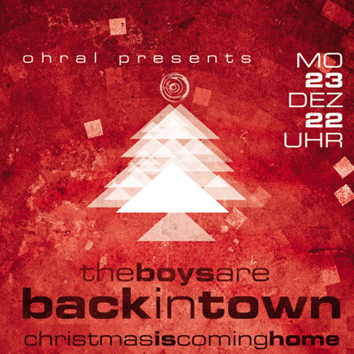 Minoru DJ Mix - Ohral Pres. The Boys Are Back In Town – Christmas Is Coming Home, Neustadt