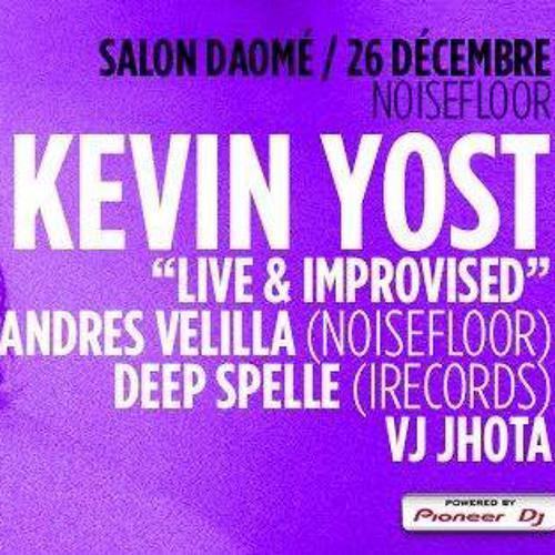 Kevin Yost - Live & Improvised ( Pod Cast 8) Montreal 26-12-13