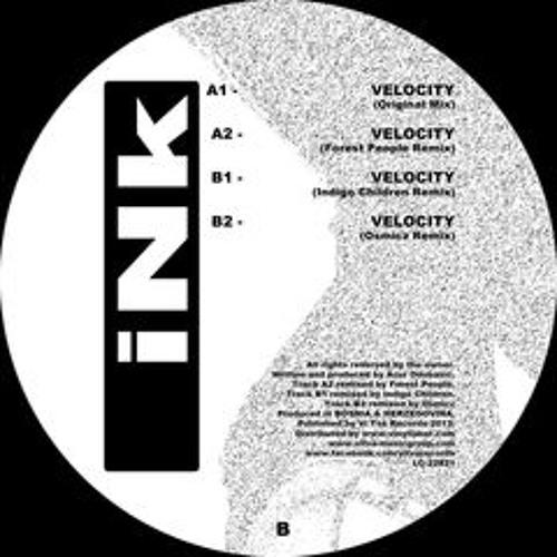 """Azur Odobasic - Velocity (Indigo Children remix) [ Vi Tva records 12"""" ]"""