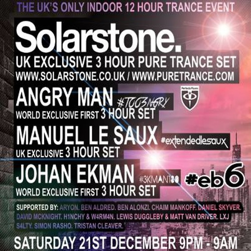 Angry Man Live @ Trance Together @ The Energy Box 6 21/12/2013
