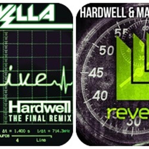 Hardwell And MAKJ - Countdown Vs  Hardwell Remix Krewella - Alive  ( MASHUP By Alex's V )