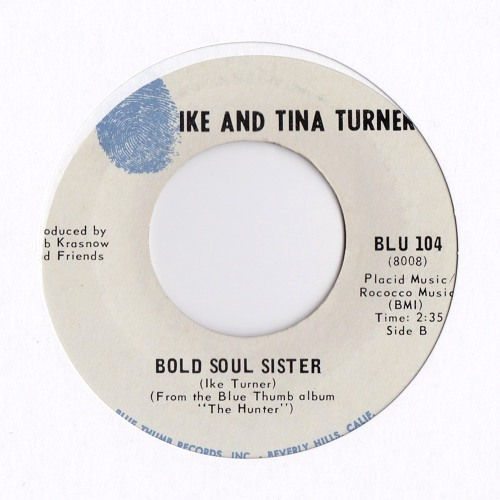 Bold Soul Sister SPANKIE EDIT by Ike And Tina Turner