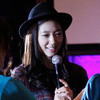 Park Shin Hye singing Lovely Day at Japan afternoon party