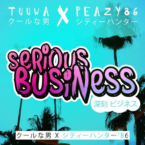 tuuwa クールな男 X peazy86 シティーハンター SERIOUS BUSINESS 深刻 ビジネス
