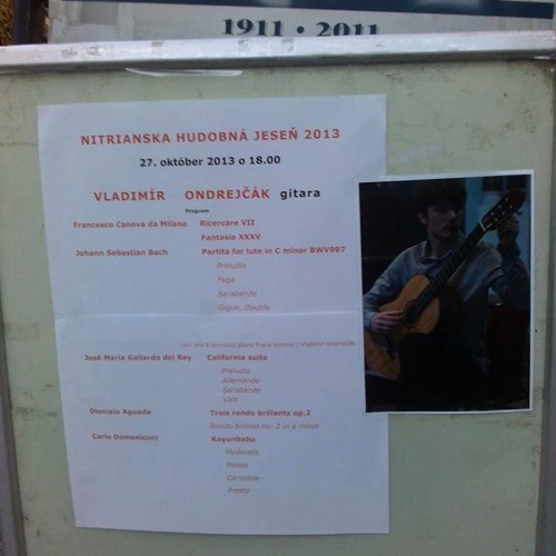 D. Aguado Rondo Brillante Op.2 No. 2 Vladimir Ondrejcak - romantic guitar