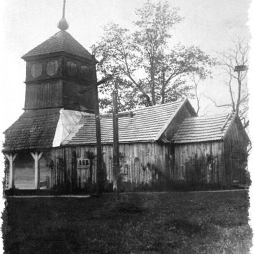 O burzeniu cerkwi w Holeszowie