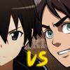 Eren Jaeger VS Kirito. Épicas Batallas De Rap Del Frikismo.
