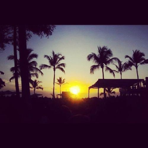 caraca cara da sunset