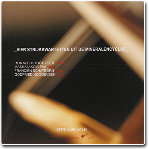 Onyx String Quartet Part 2 - Religioso, misterioso, celeste - Adriaan Valk