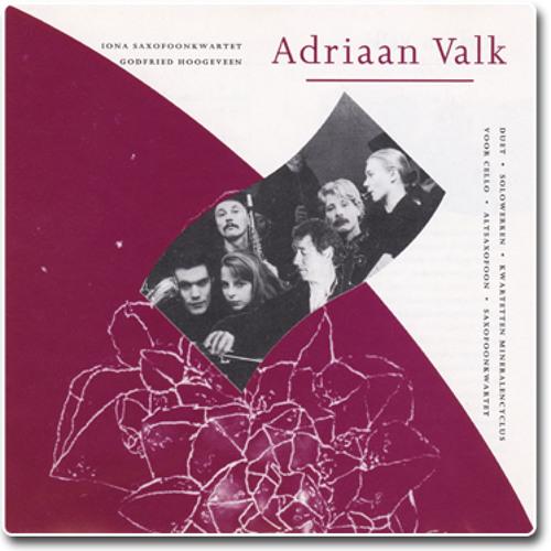 Tourmaline Saxophone Quartet - Adriaan Valk