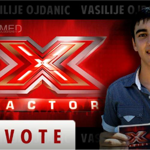 [X Factor Adria] - Vasilije Ojdanic - Live Shows - (10th December 2013)