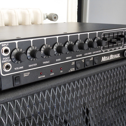 Mesa Boogie Studio Preamp Lead Tone Test