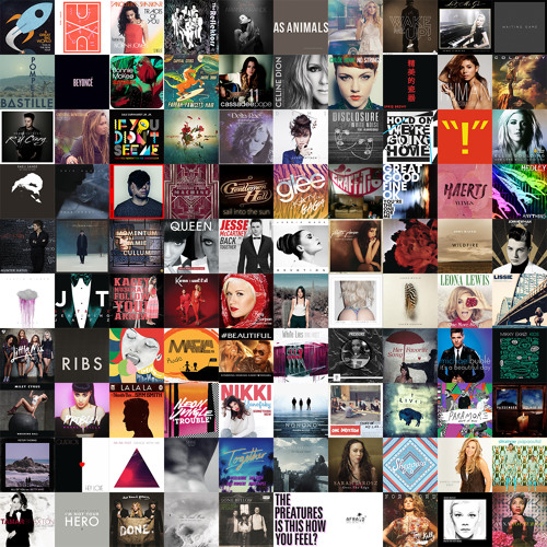 Kurt's 100 Favorite Songs of 2013
