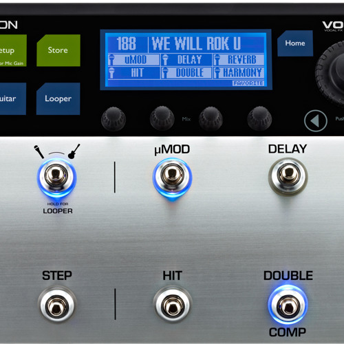 VoiceLive 3 - Vocal Effect Examples