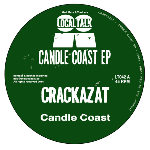 Crackazat - Candle Coast (12'' - LT042, Side A1)