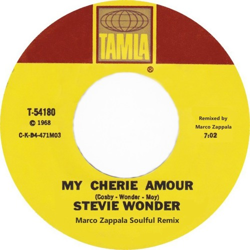Stevie Wonder - My Cherrie Amour (Marco Zappala Soulful Remix)