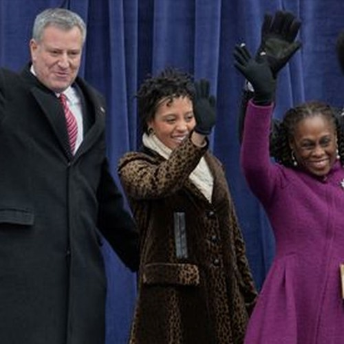 "Newly Elected Mayor Bill de Blasio: NYC Cannot Become the ""Exclusive Domain of the One Percent"""