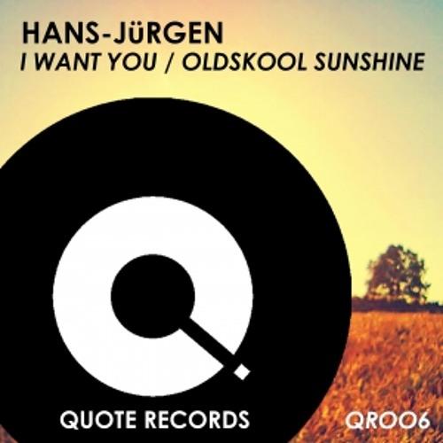 I Want You by Hans-Jurgen