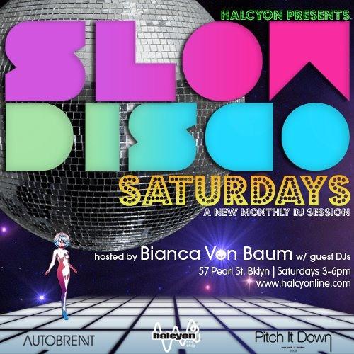 Live At Halcyon Slow Disco Saturdays, Summer 2011