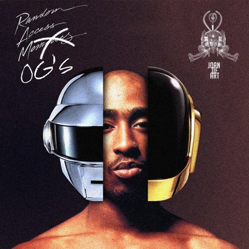 Tupac & Daft Punk - Give Life Back To Old School (Joan Of ART Mashup)