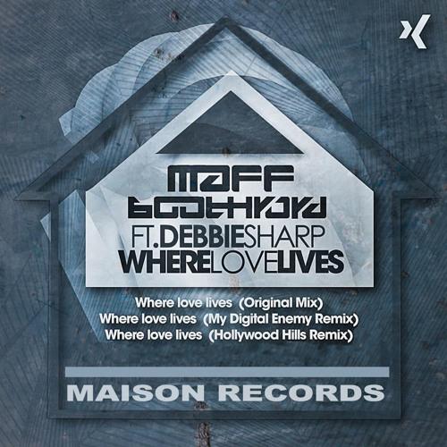 Where Love Lives  - Maff Boothroyd ft Debbie Sharp - RELEASE DATE 10TH FEB 2014