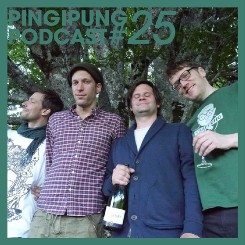 Pingipung Podcast 25: Ten years of Pingipung - the miX
