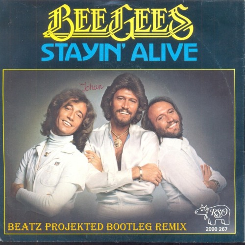 """Staying Alive (Beatz Projekted Bootleg Remix) - Bee Gees """"FREE DOWNLOAD!"""""""