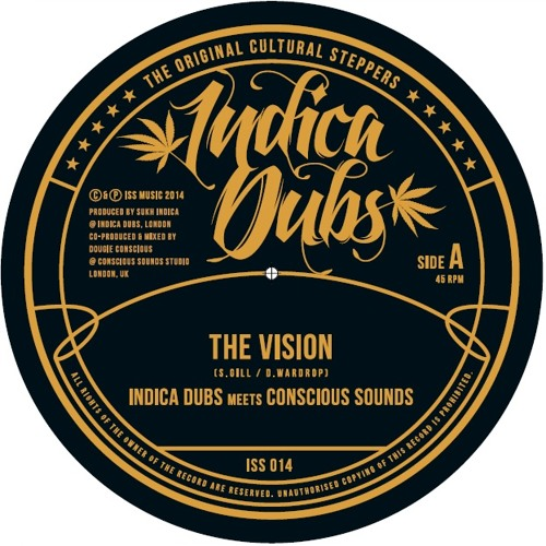 "The Vision 7"" [Indica Dubs ISS014]"