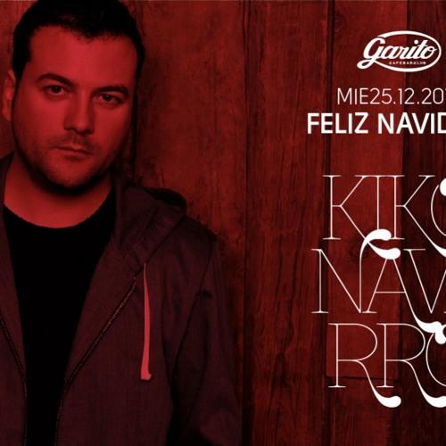 Kiko Navarro Christmas @ Garito Cafe 25-12-2013
