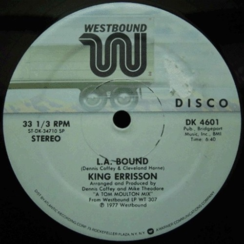 King Errisson - L.A. Bound (dj mila instrumental edit)