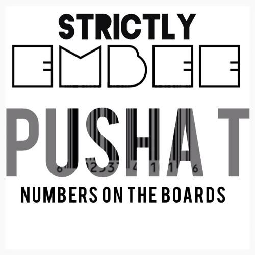 Pusha numbers on the boards lyrics