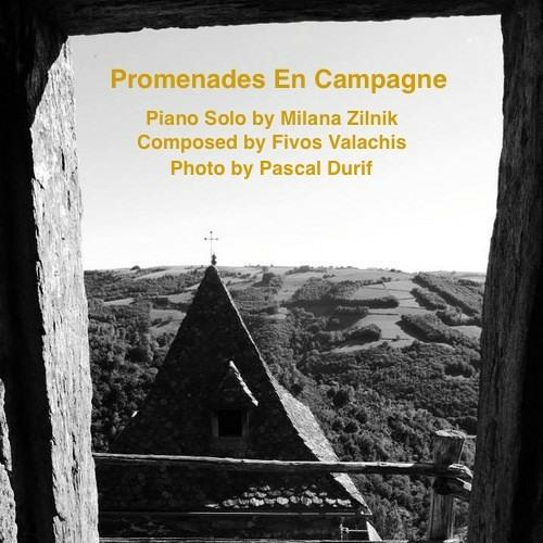 Promenades En Campagne - Fivos Valachis (composition), Milana (piano, impro)