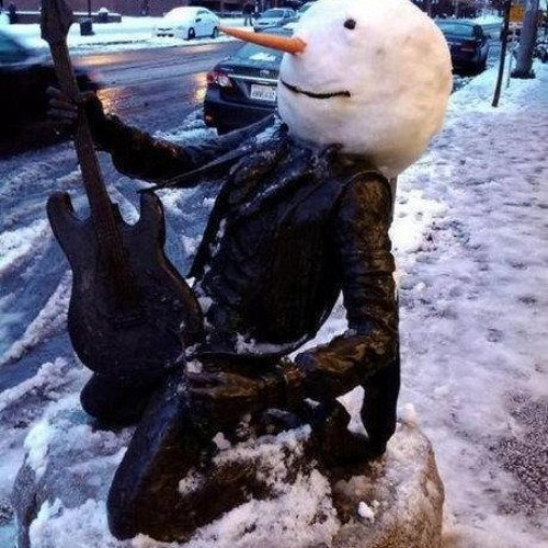 The Waltz of the Melting Snowman